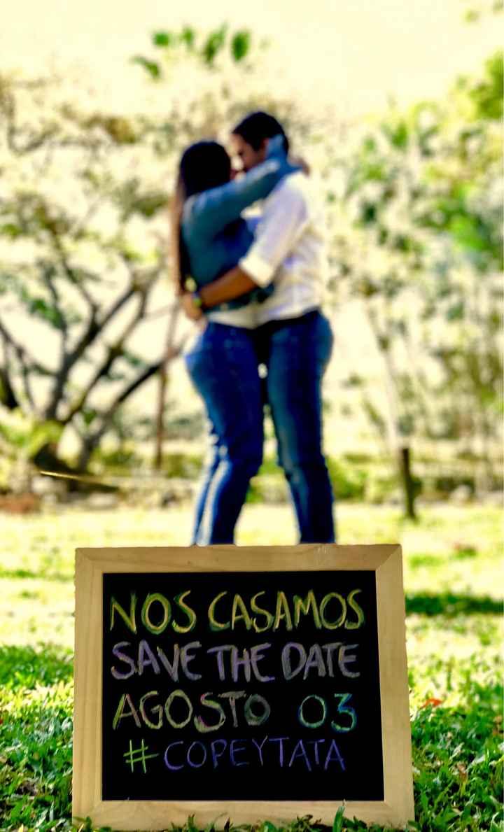 ESPECIAL Save the Date: ¡Que nadie falte a tu matrimonio! - 1