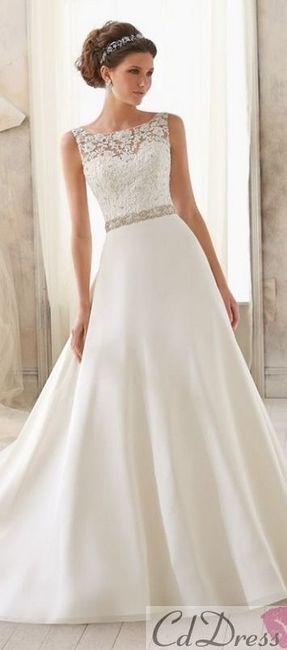 vestidos de novia economicos y lindos