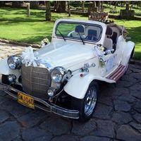Carro clásico blanco