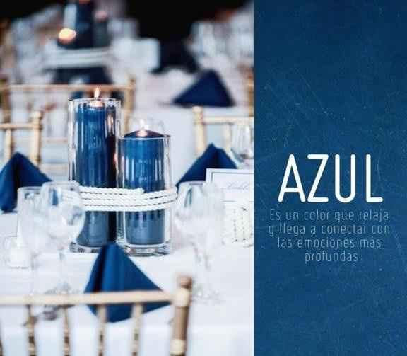 3. Azul.