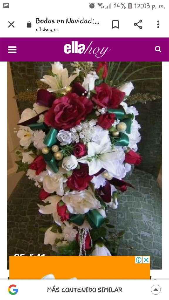 Bouquet y ramos navideño - 1