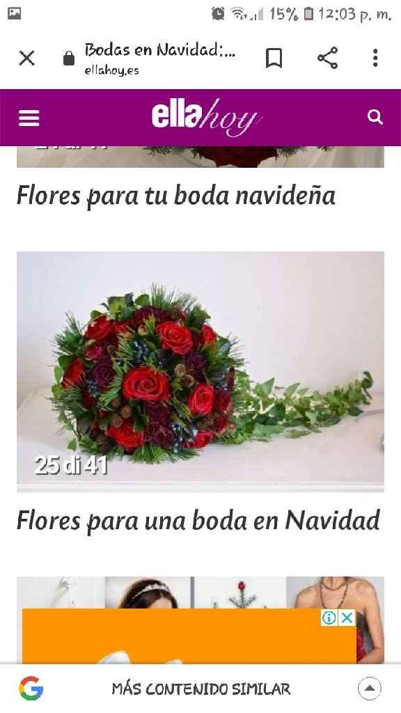 Bouquet y ramos navideño - 2