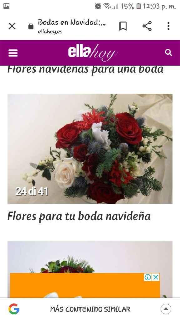 Bouquet y ramos navideño - 3