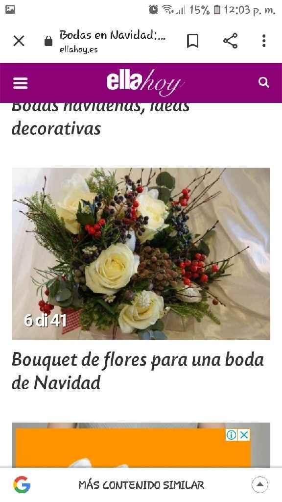 Bouquet y ramos navideño - 4