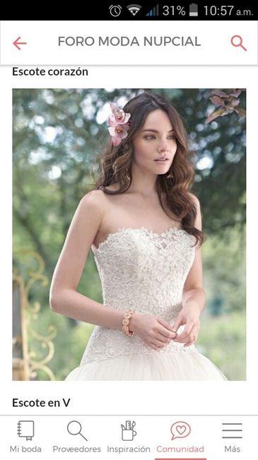 mi diseño de vestido de novia ana maria