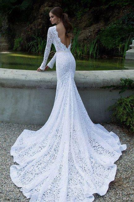 8d654998e Dile que sí a estos vestidos de novia con escote en la espalda!