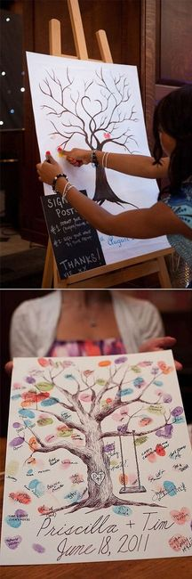 Libro de Firmas muy creativo