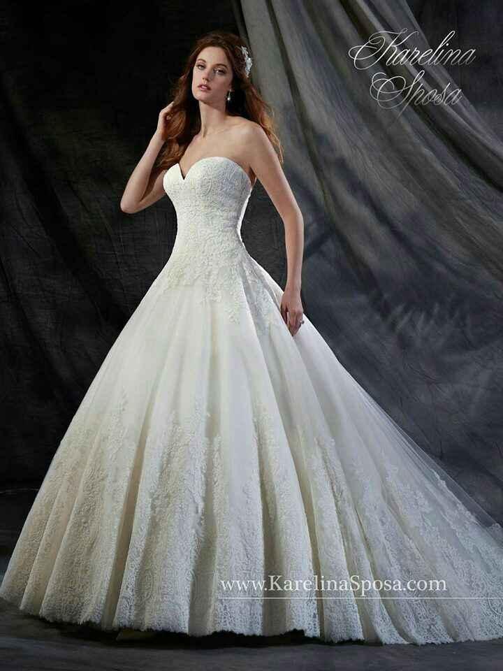 Este es el modelo de mi vestido con el peinado - 1