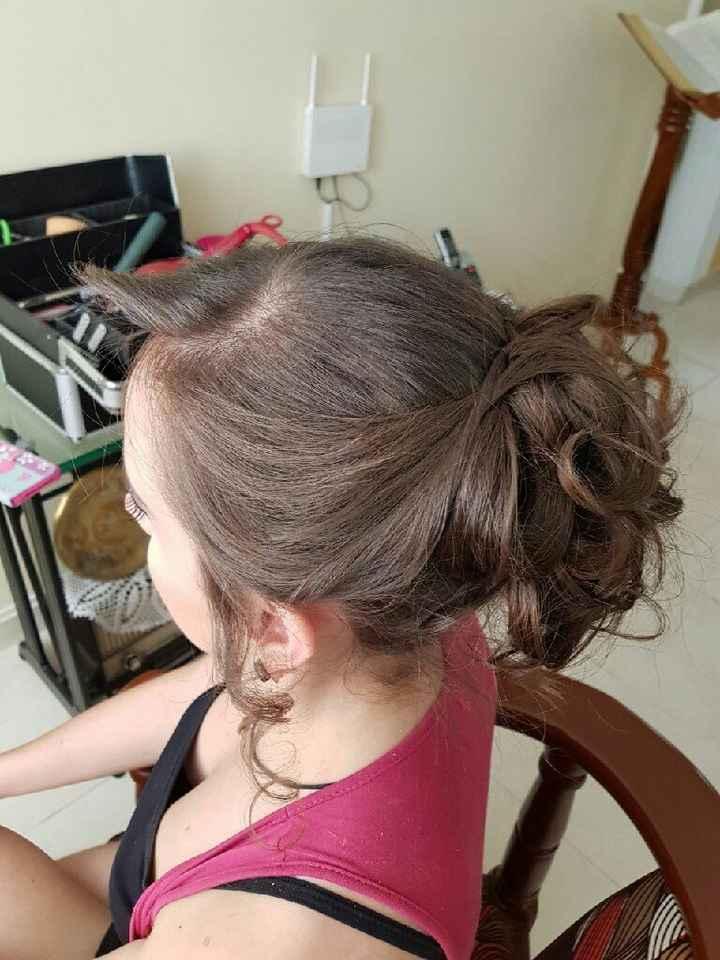 Este es el modelo de mi vestido con el peinado - 3