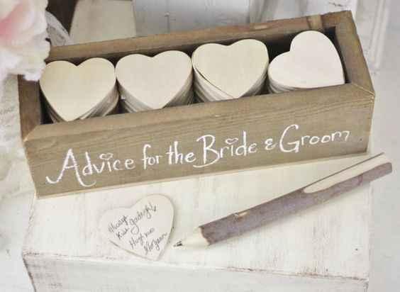 otro detalle relindo para tener en cuenta en la boda