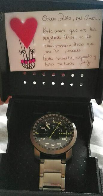 Reloj Compromiso Para El Novio