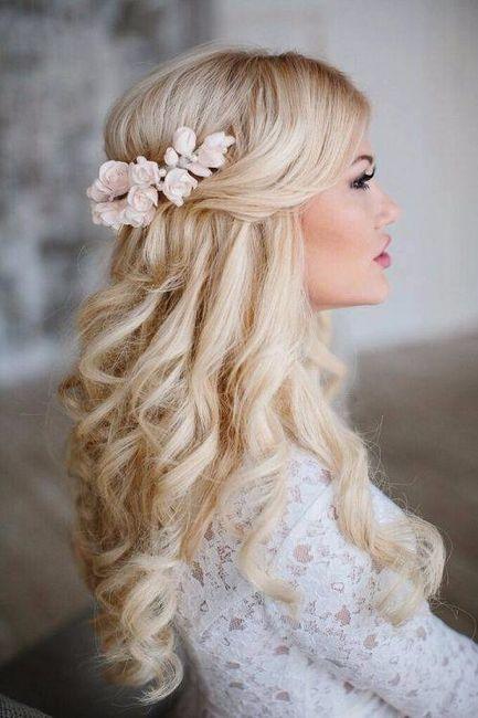 Resultado de imagen para peinados de novia SUELTO