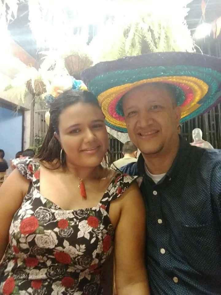 Así celebramos el amor Mauricio y yo 💓💓💓 - 1