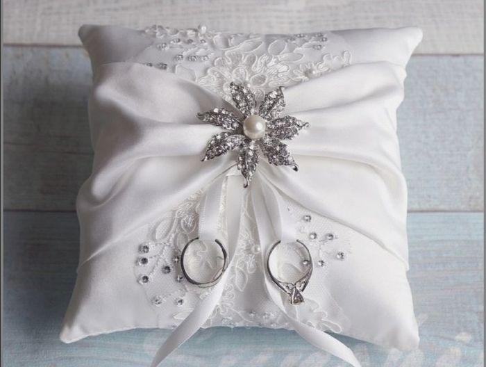 Alianza de boda:porta anillos 💍 1