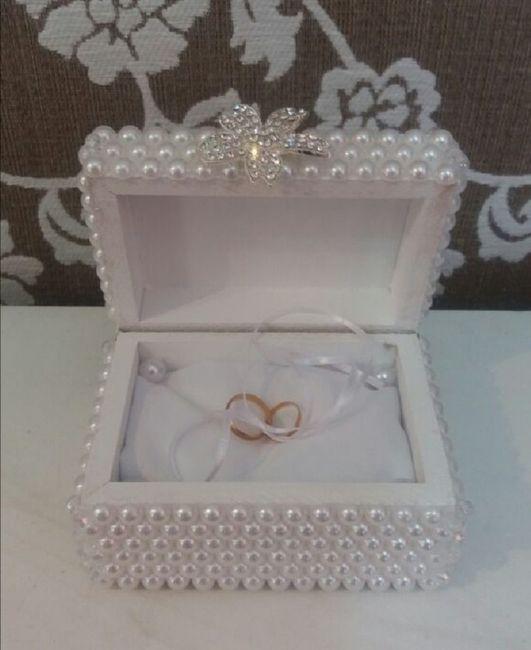Alianza de boda:porta anillos 💍 3