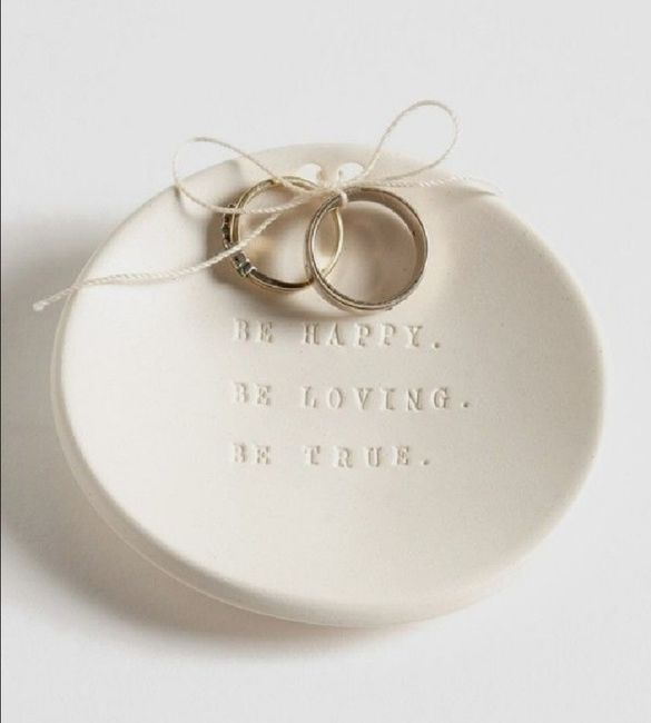 Alianza de boda:porta anillos 💍 5
