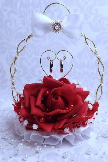 Alianza de boda:porta anillos 💍 6