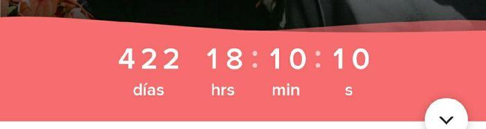 ¿Cuántos días faltan para tu matrimonio? 5