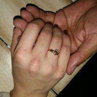 Sí, me caso con este anillo de novia - 1