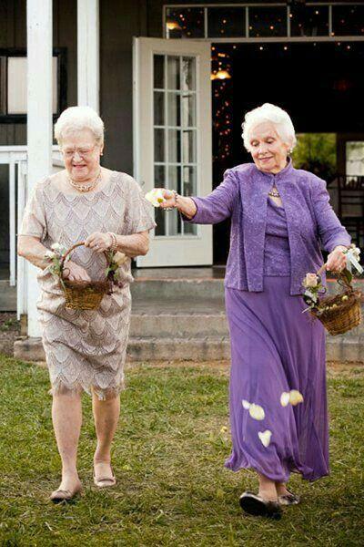 tu abuela el día de la boda