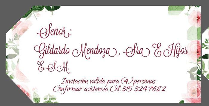 Letras Para Invitaciones