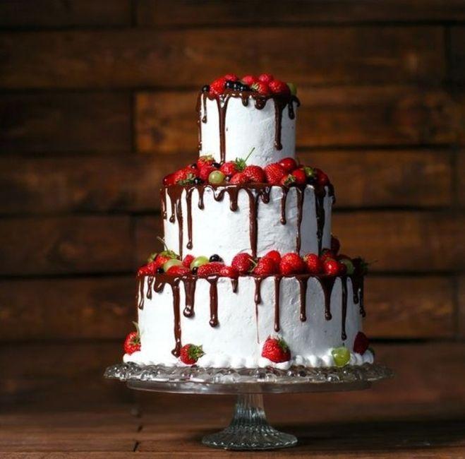 Torta Frutal o Floral 😍 1