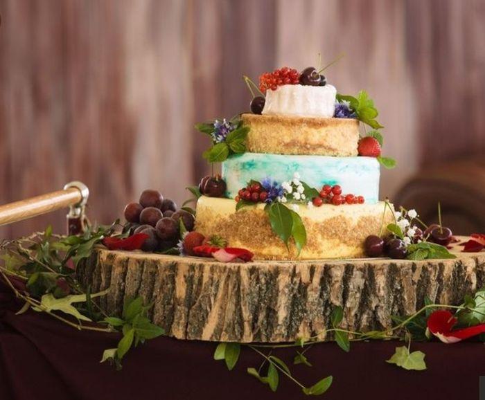 Torta Frutal o Floral 😍 3