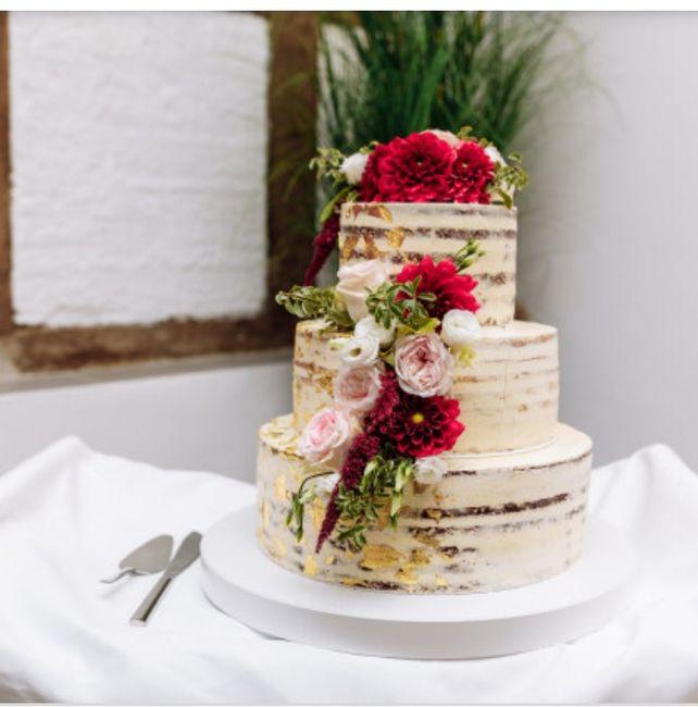 Torta Frutal o Floral 😍 4