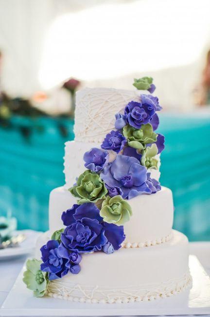 Torta Frutal o Floral 😍 5