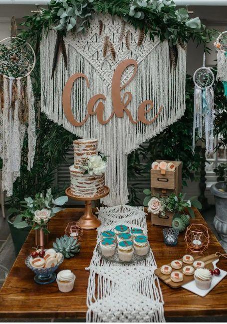 5 Ideas para la Mesa de la Torta 💞 1