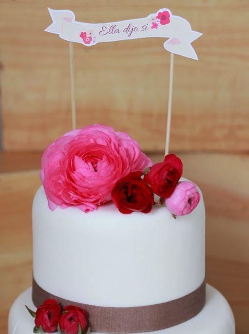 5 Ideas de Cake Topper 💞 4