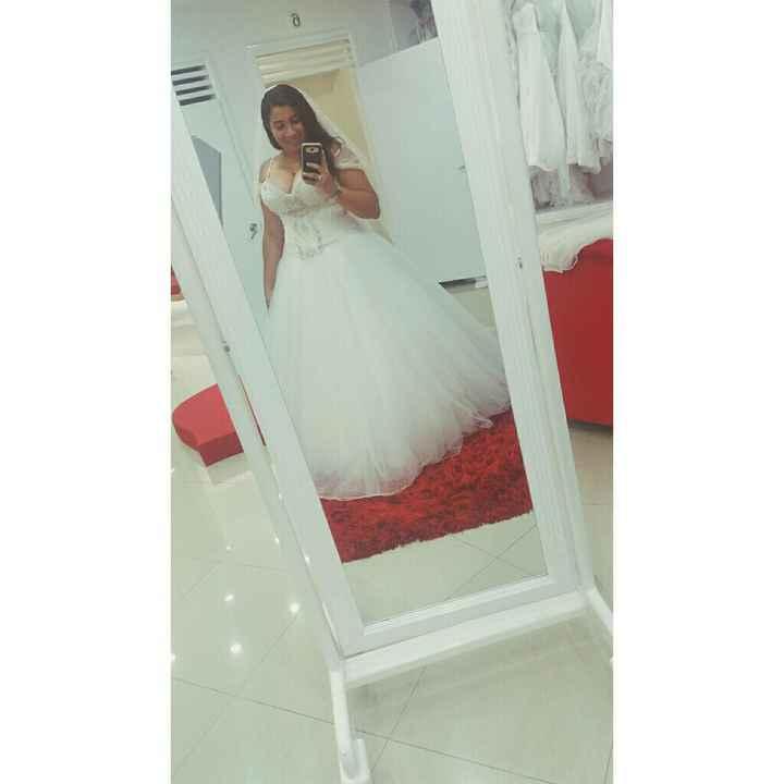 Encontré mi vestido! y lo ame ❤😍 - 1