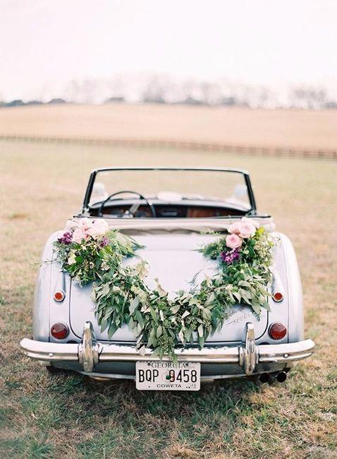 O transporte segundo a tua data de casamento 3