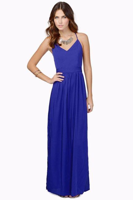 Si tuvieras que elegir un vestido para tus damas de honor, ¿cuál sería?