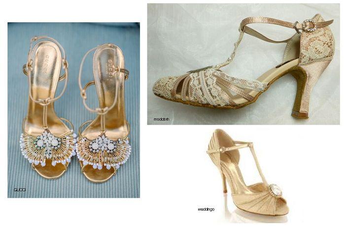zapatos novia vintage