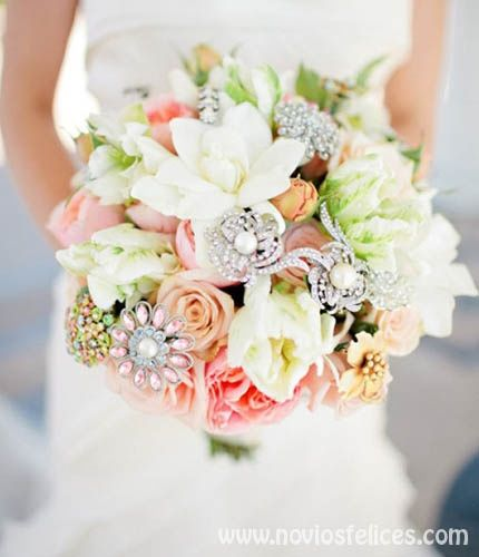 ramo de novia originales para cada estilo de boda