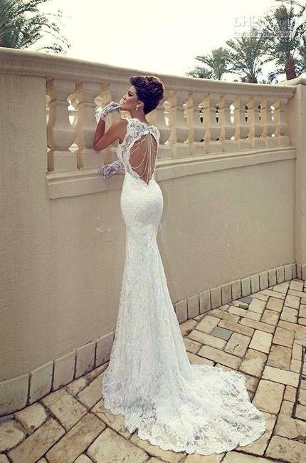 estilo limitado Super baratas Cantidad limitada Vestidos de novia pedreria y encajes
