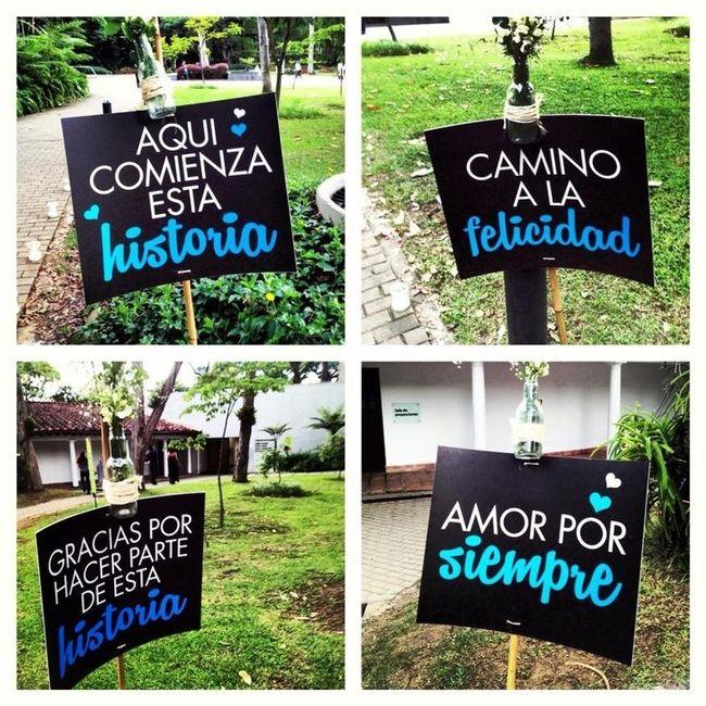 Ideas de letreros originales para tu boda - Ideas originales para parejas ...