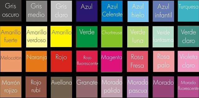 Escoge tu paleta de colores para la decoraci n de tu boda p gina 2 - Paleta de colores pared ...