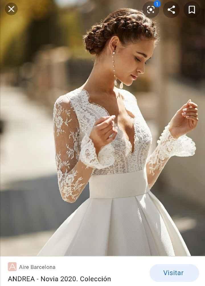 El vestido de novia con tu nombre 🌈 - 3