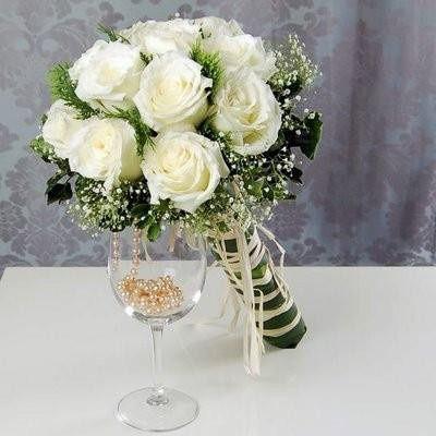 Necesito un ramo de flores blancas!!!! 10
