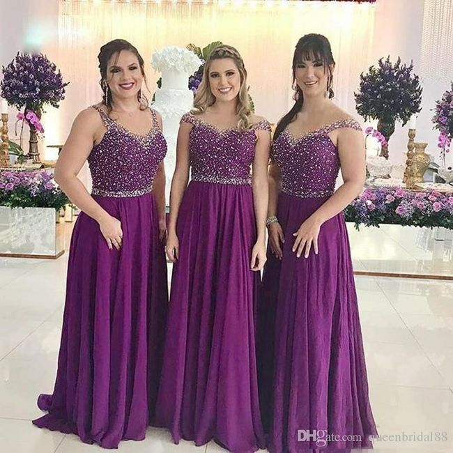 Vestidos Damas De Honor