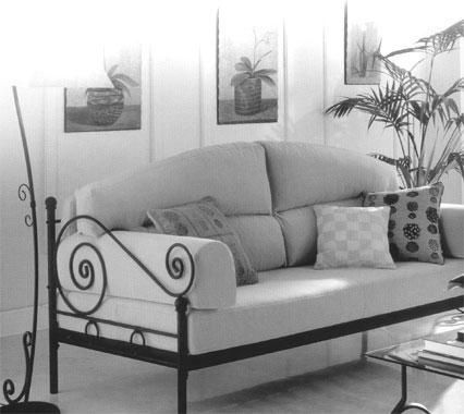 Muebles Hierro forjado6