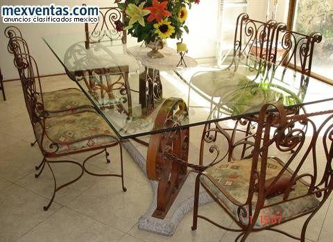 Muebles Hierro forjado9