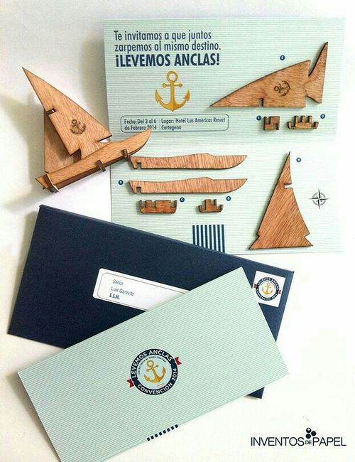 Invitaciones creativas - 2