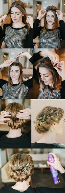 Novia de día vs Novia de noche: El peinado 5