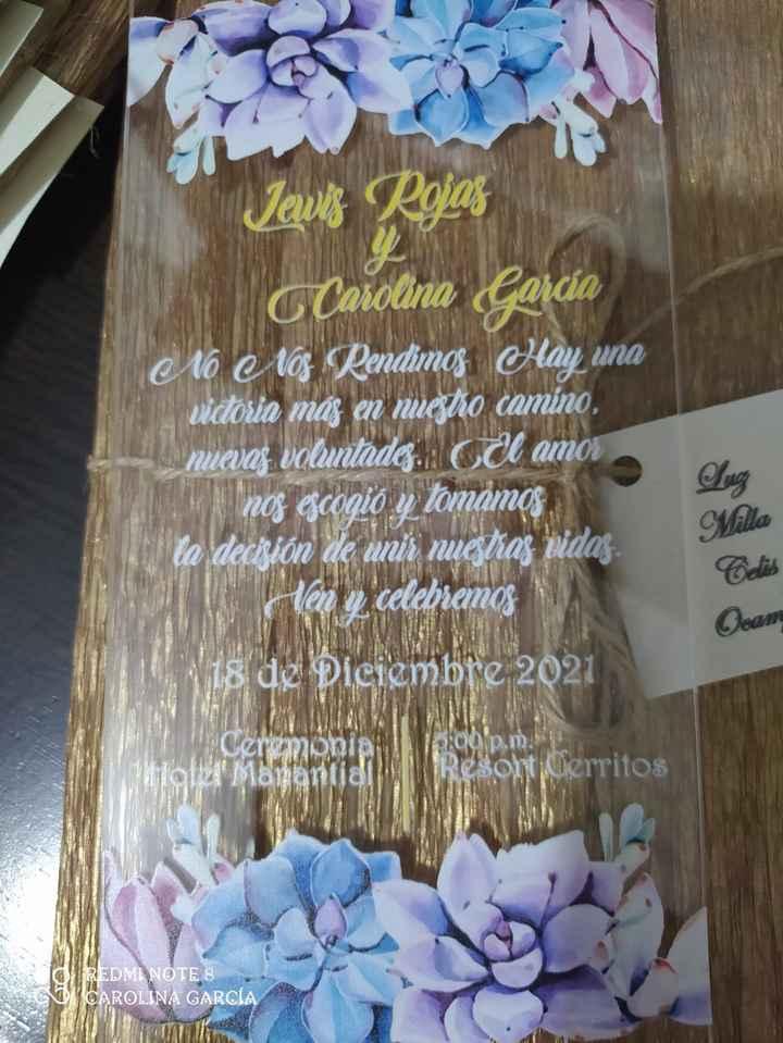 Novios que nos casamos el 18 de Diciembre de 2021 en Risaralda - 1