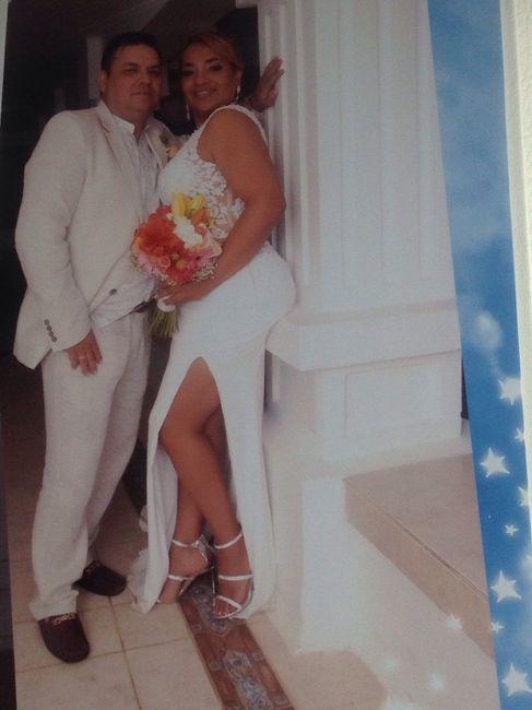 Felizmente casada a Dios la Gloria y honra 3