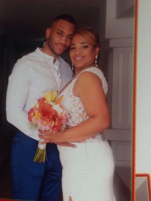 Felizmente casada a Dios la Gloria y honra 4
