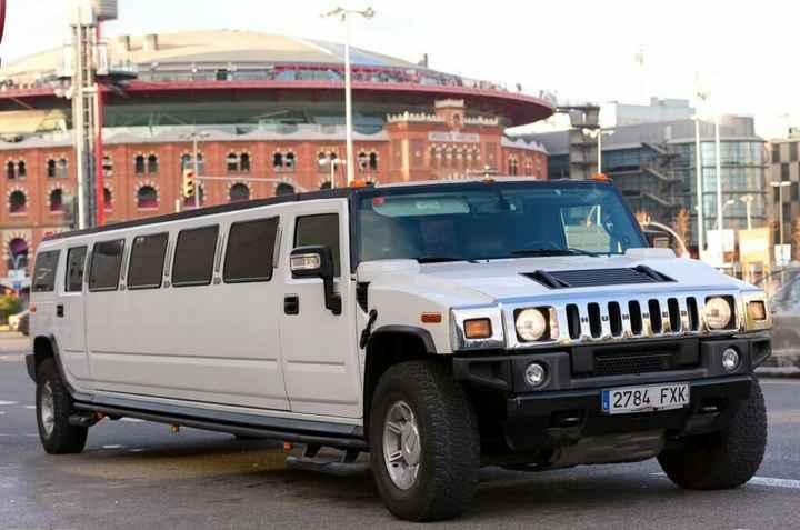 Deseo este carro para mi matrimonio - 1